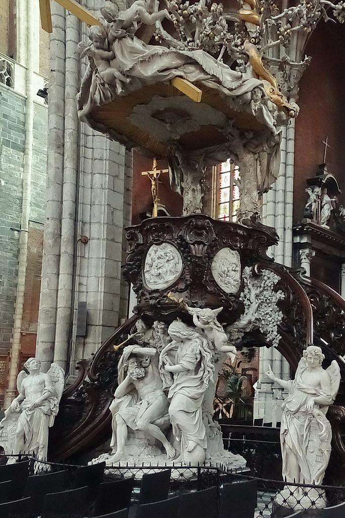 Kathedrale St. Bavo Kanzel