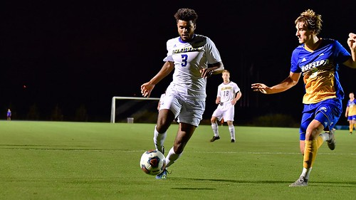 Delaware men's soccer loses in defensive battle to Hofstra