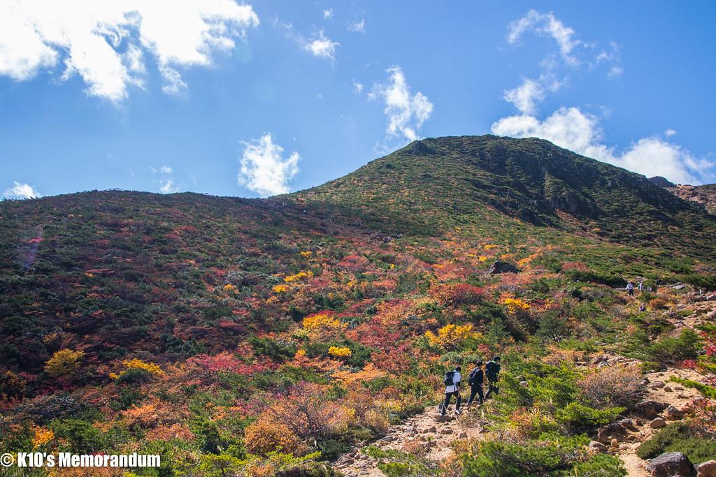 安達太良山秋002