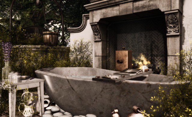 Outdoor spa ideas...