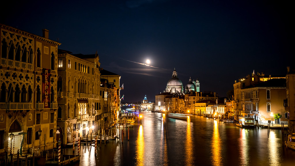 Ponte dell'Accademia at Night