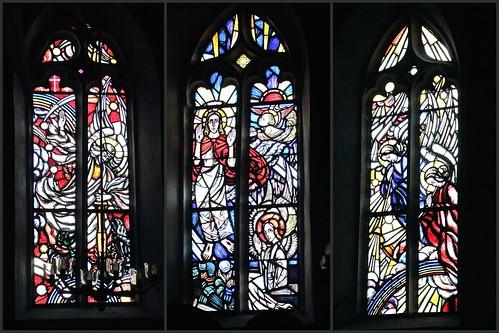 Collage, Fenster  von Ina Hoßfeld
