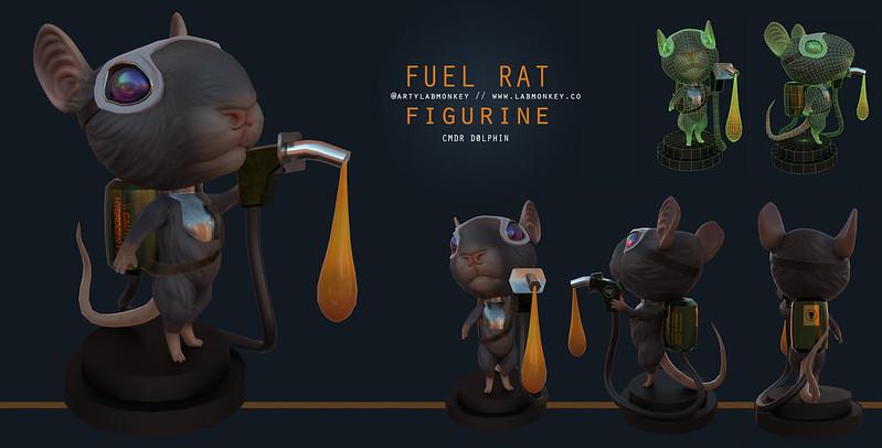 Jamie Carr's Fuel Rats Bobblehead