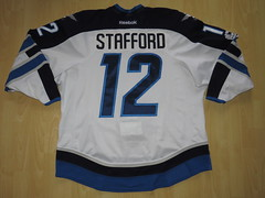 #12 Drew STAFFORD Game Worn Jersey