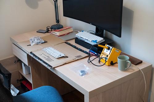 Starting Point, Keyboard Build.