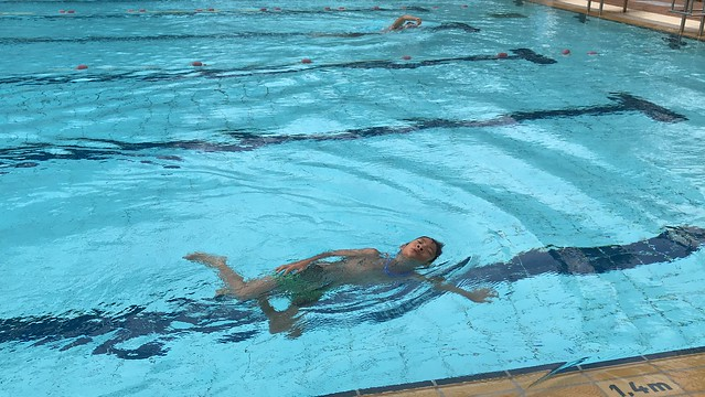 Ethan's Bronze Swimming Exam