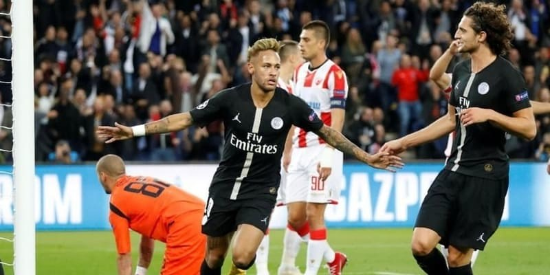 Neymar Hat-trick, PSG Bantai Red Star Belgrade 6-1