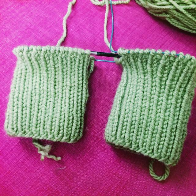 Knit Socks WIP