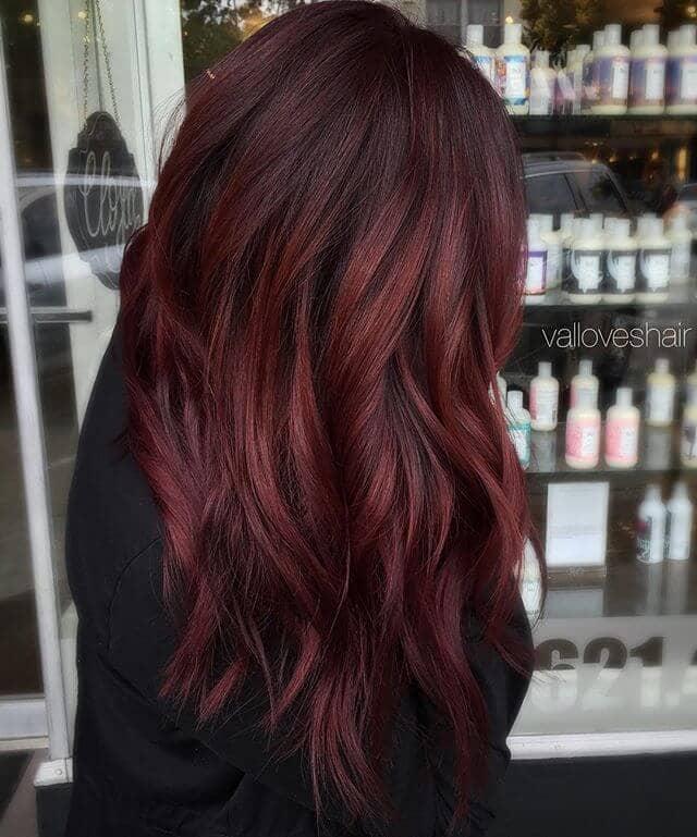 best burgundy hair dye to Rock this Fall 2019 9