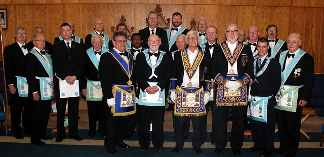 2018 10 11 Trafalgar Lodge No. 712 Official Visit