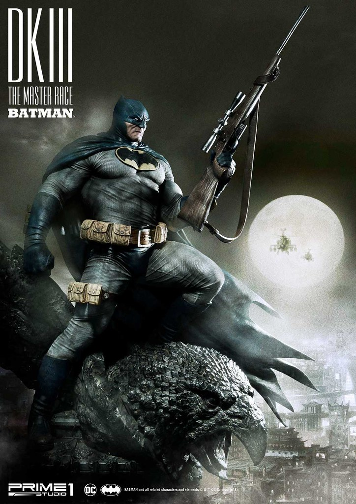 Prime 1 Studio《The Dark Knight III: The Master Race》Batman MMDCDK3-01 1/3 Scale Statue Regular/Deluxe Version