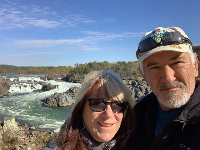 Jack and I at Great Falls National Park