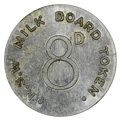 Australia New South Wales Milk Token reverse