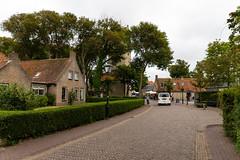 Straßen in Nes auf Ameland
