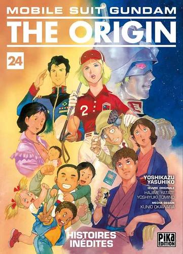 Gundam Origini 24 pour Pika Edition