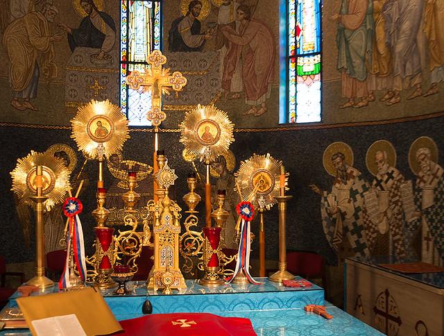 St. Sava altar
