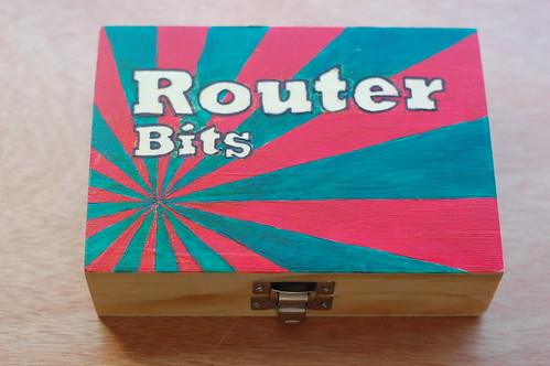 Router Bits Box