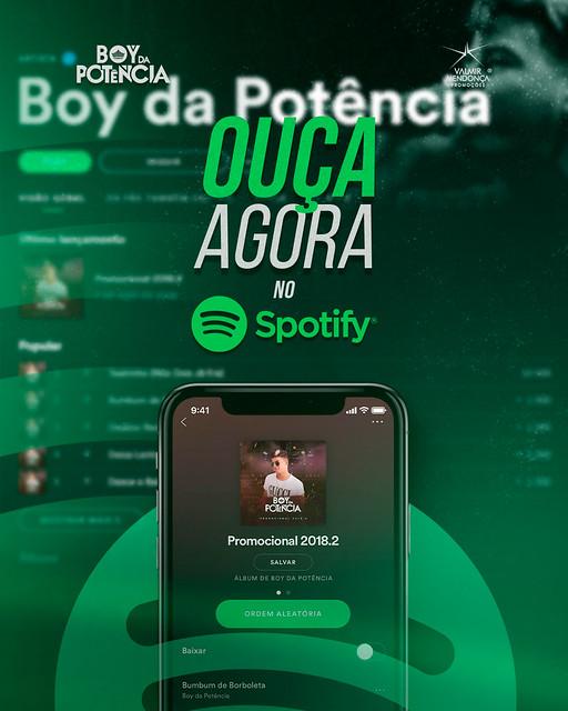 Ouça Agora no Spotify