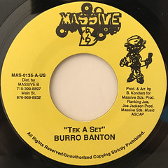 BURRO BANTON:TEK A SET(LABEL SIDE-A)