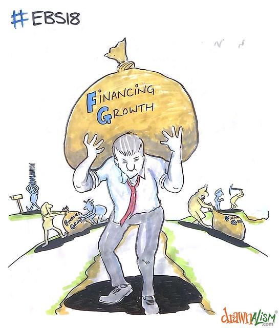 European Banking Summit - Drawnalism cartoons