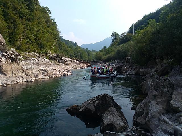 Neretva rafting famous one