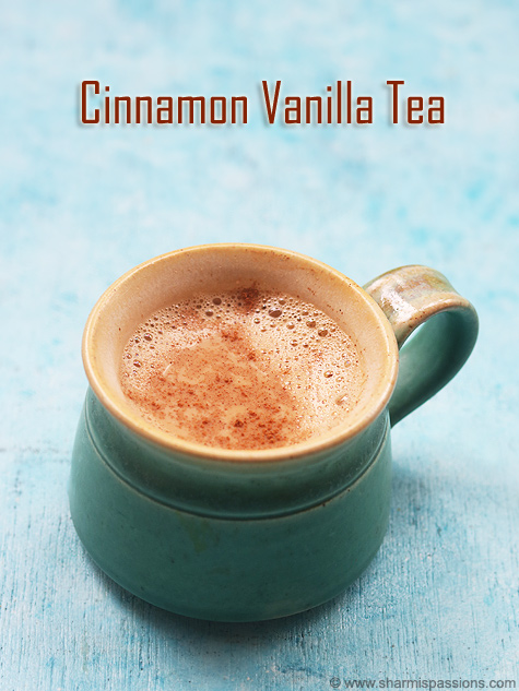 vanilla cinnamon tea recipe