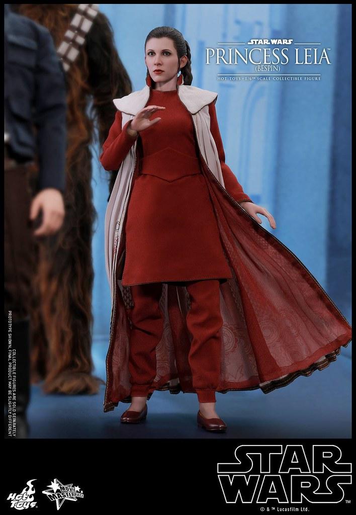 Hot Toys - MMS508 -《星際大戰五部曲:帝國大反擊》莉亞公主 (貝斯平) Princess Leia (Bespin) 1/6 比例人偶作品