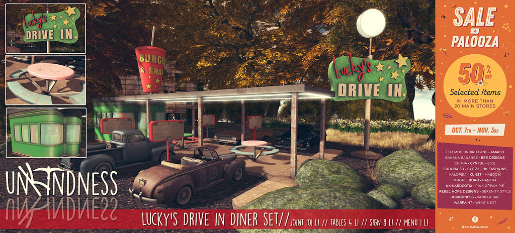 uK – Lucky's Drive-In – Sale-a-Palooza