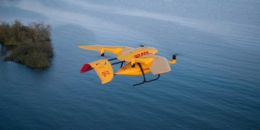 DHL Parcelcopter prend son envol en Tanzanie