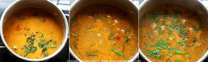 How to make hotel sambar - Step6
