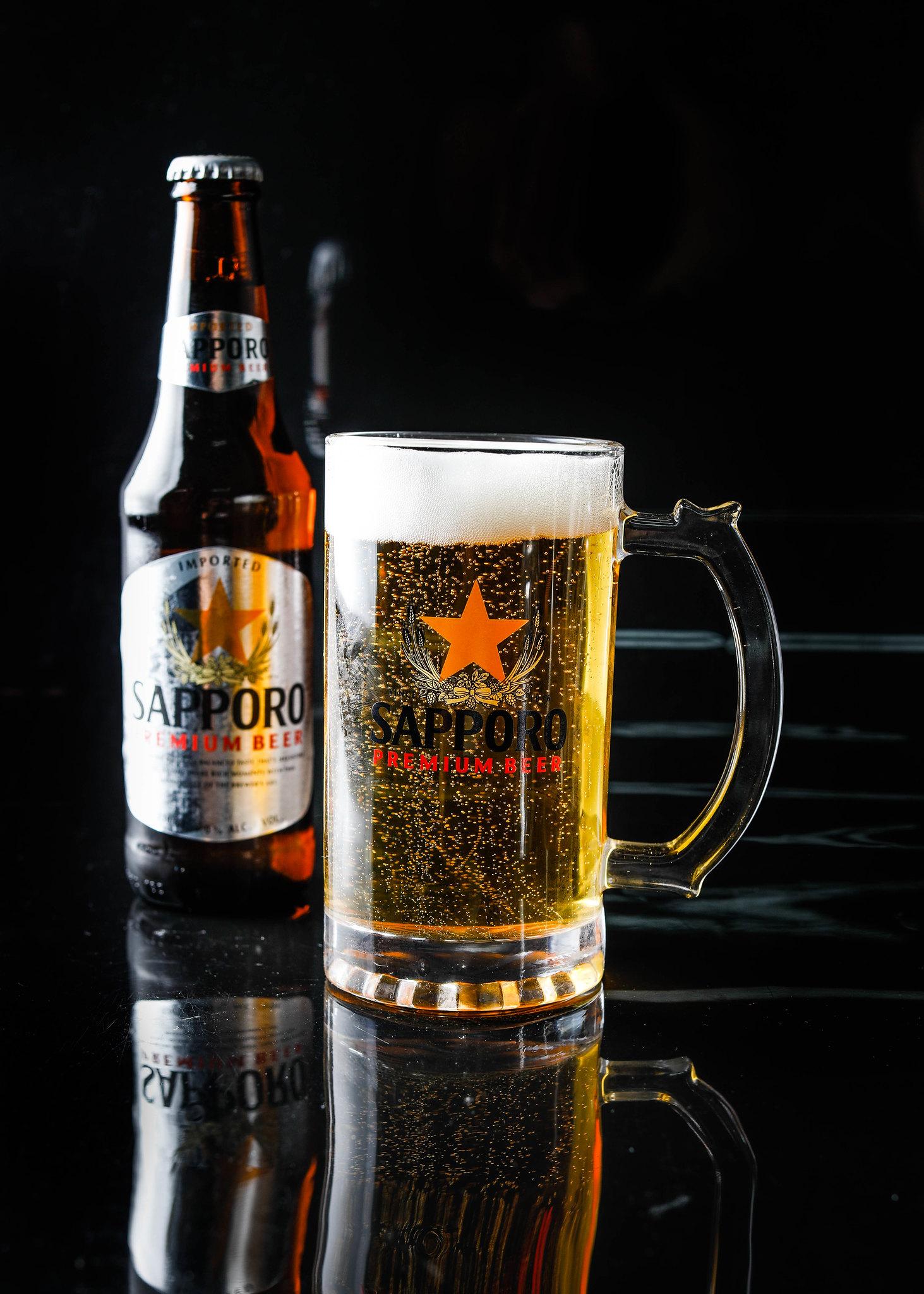 札幌优质啤酒瓶w玻璃