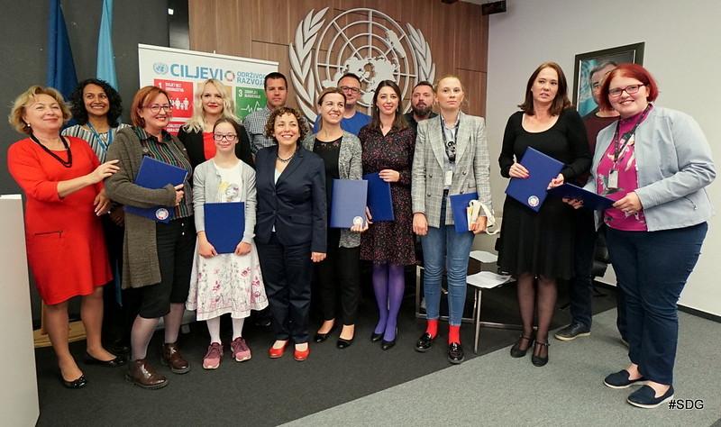 Dodjela priznanja - novinarski doprinos informisanju i promociji ciljeva održivog razvoja u BiH tokom 2017. godine