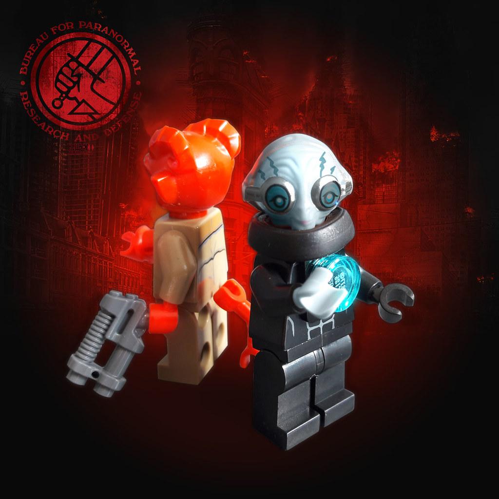 Abe Sapien & Hellboy