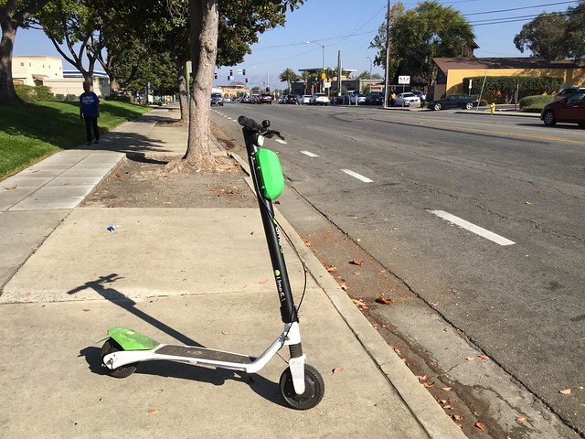Scooters are everywhere now