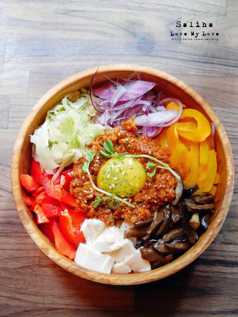 台北2J CAFE好吃餐點推薦韓式拌飯烤餅 (5)