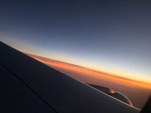 Up in the air again