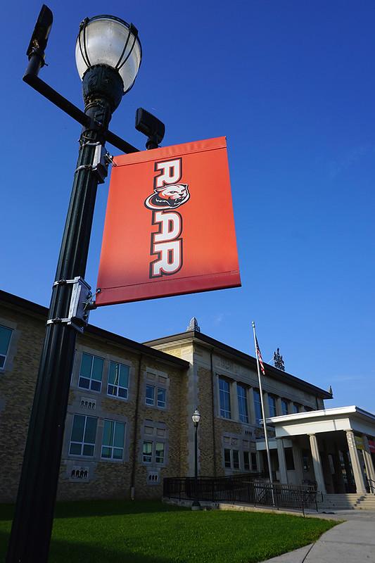 Harrisburg-HS---Pole-Banner-Red
