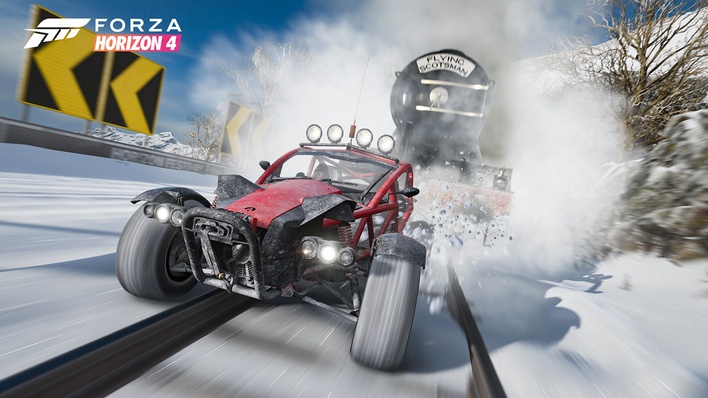 """Forza Horizon 4"" Previews - Flying Scotsman"