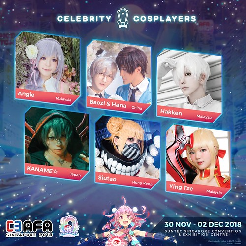 AFA2018_Guest_Cosplayers