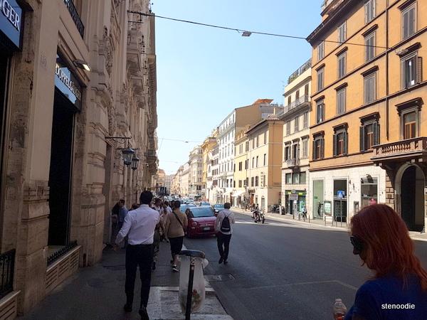 Streets near Beradarini station