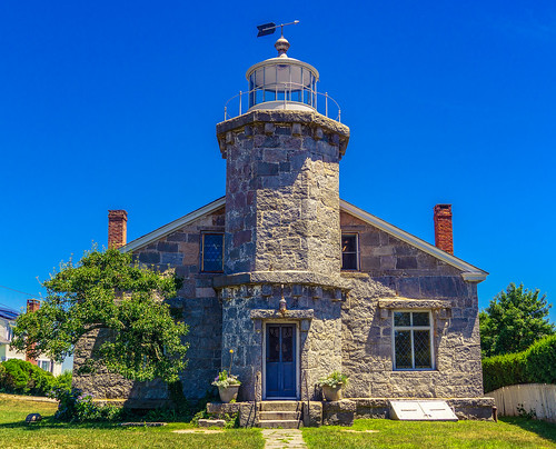 landscape lighthouse blue grass stonington connecticut unitedstates us building sky harbor architecture tower
