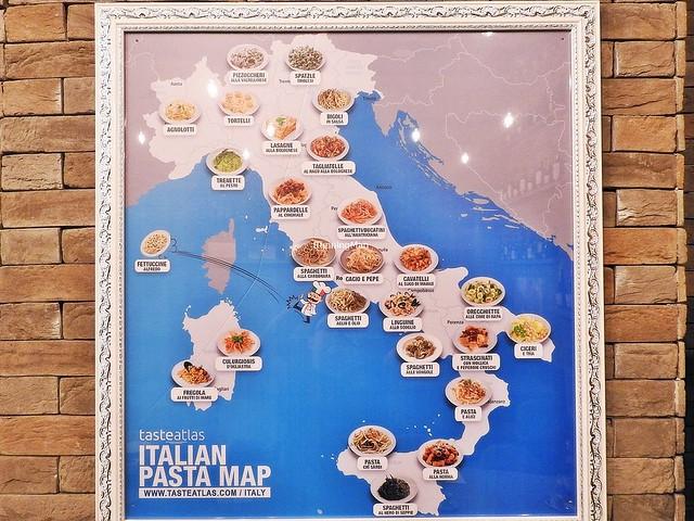 Italian Pasta Map