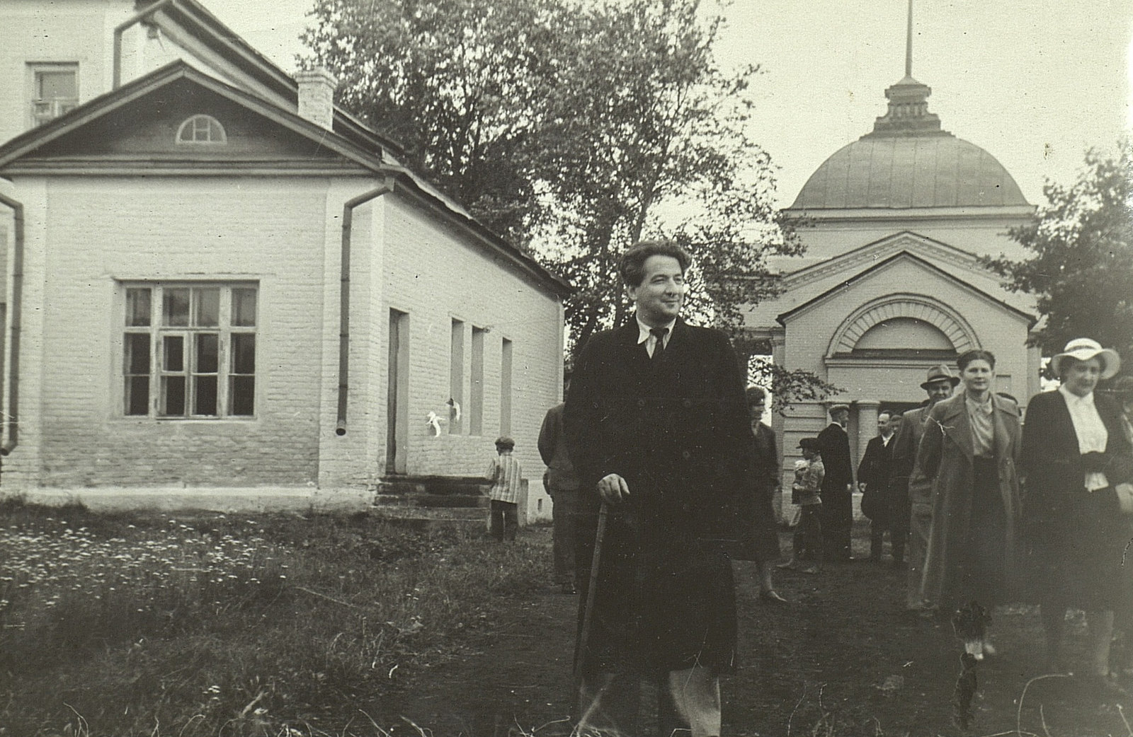 И.Л. Андроников в «Тарханах». Первое посещение музея. 1948 год
