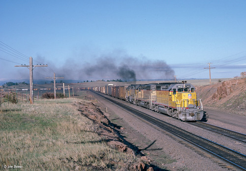 UP 3412 East at Sherman, WY