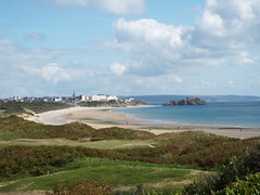 Long View Of Tenby