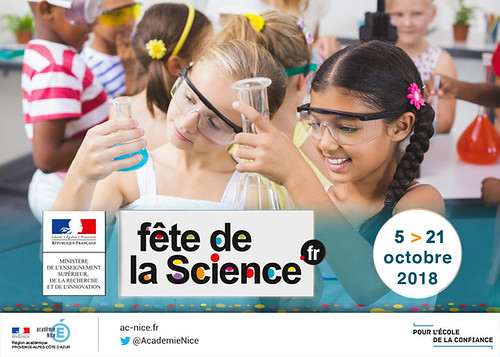 #FDS2018 - Fête de la Science 2018