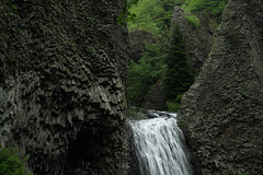 The Basalt Falls - Cascade du Ray Pic
