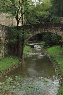 Girona. Riera de Galligants