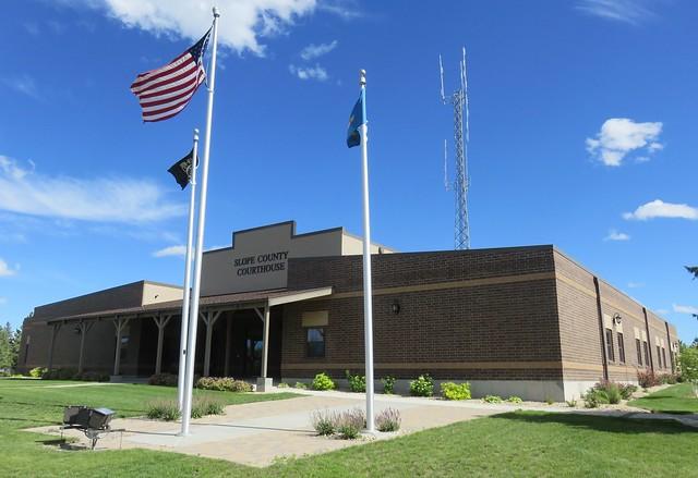 Slope County Courthouse (Amidon, North Dakota)