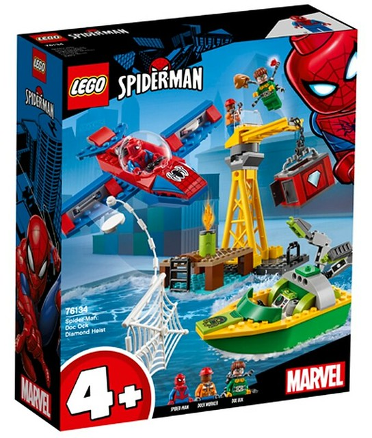 76134 Spider-Man Doc Ock Diamond Heist